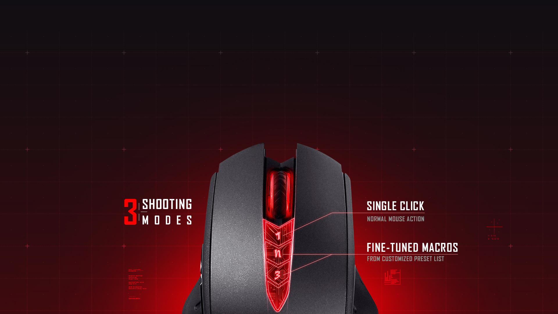 A4Tech V8M Gaming Mouse - X'Glide Ultra Core 3