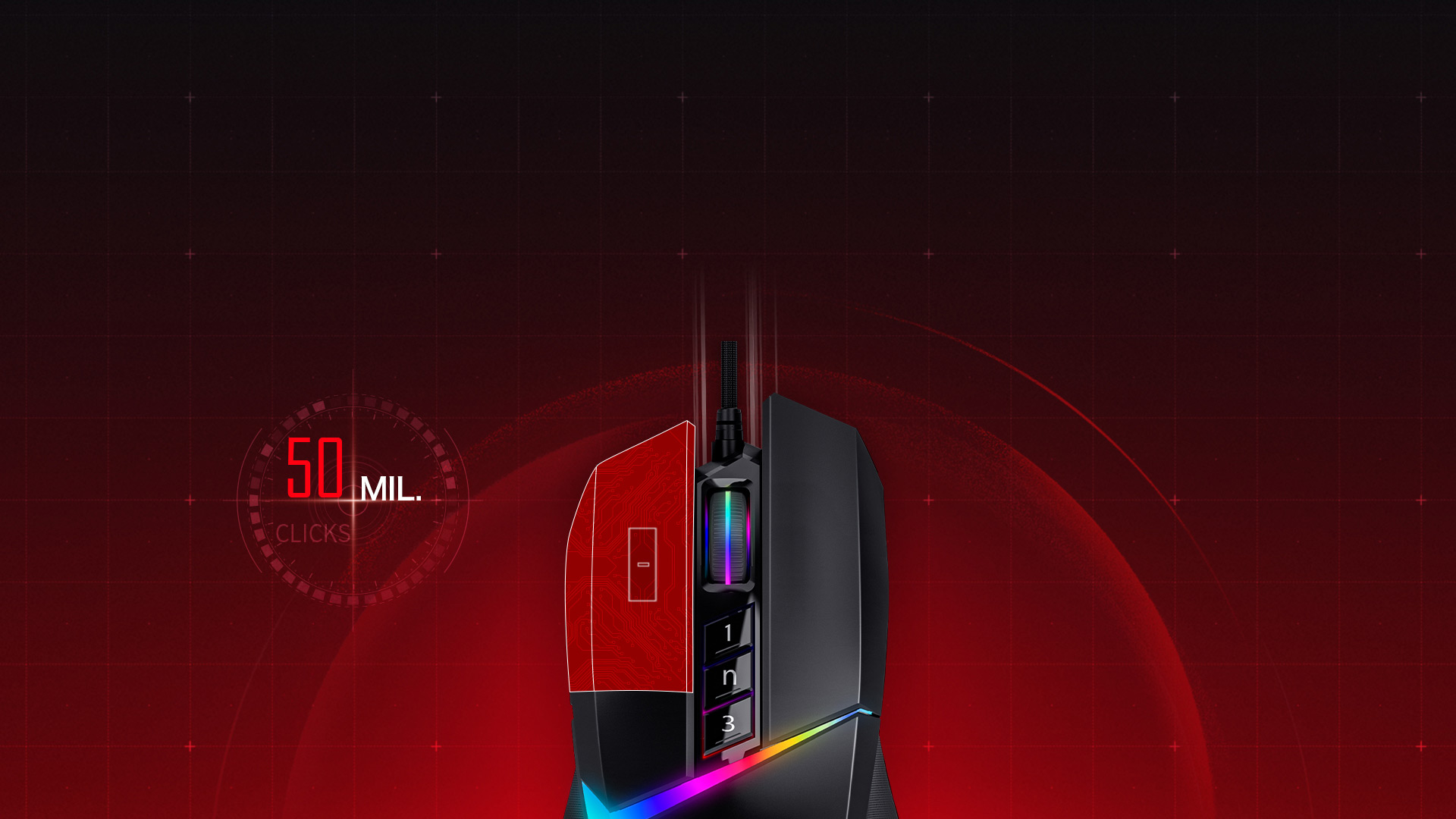 Bloody W60 Max RGB Gaming Mouse